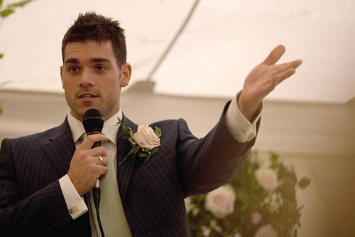 Delivering a Great Wedding Speech