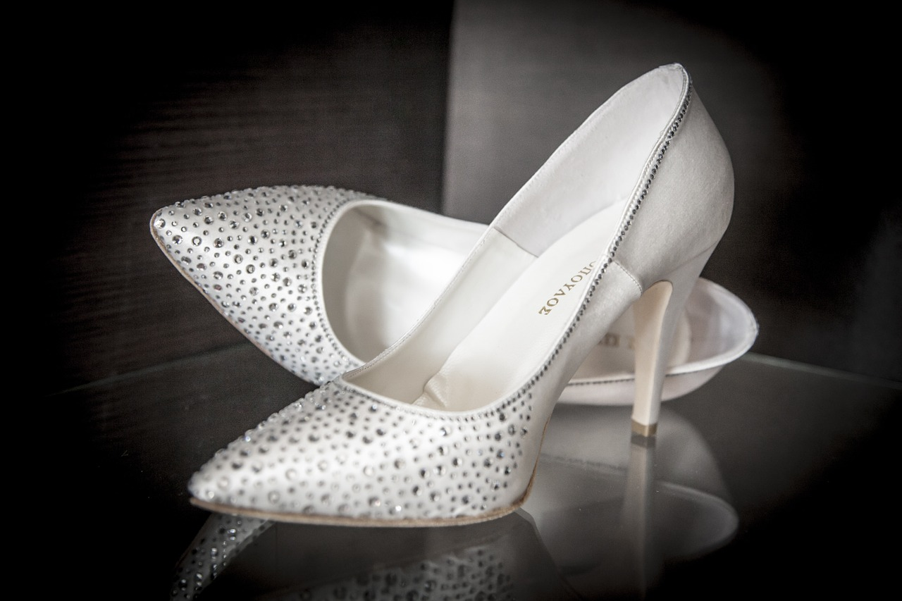Wedding shoes – How to choose the right style